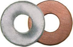 CuAl-mellomlegg skive for M6, utv ø=16mm