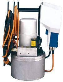 HA 1 ES. Novopress elektrohydraulisk pumpe, 150 bar