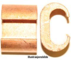 C-13-9. C-klemme 95mm², avgrening 50mm²