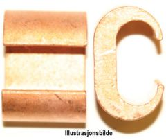 C-6-3. C-klemme 25mm², avgrening 6mm²