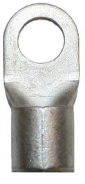 B 50-8 SH. Uisolert kabelsko, ring, sveiset hals, 50mm² M8
