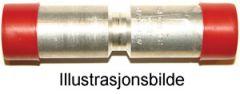 Press-skjøtehylse, Aluminium 25mm²