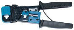 Presstang modularkontakter; RJ 11,45 2,4,6,8 pin