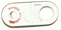 """Avisoleringsverktøy, enkel """"snurre"""" for STB og UTB koaxkabler opp til ø=11mm"""