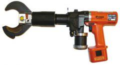 HPC 65, Kabelkutter, batteridrevet med frontkutt opp til ø=65mm, to halvmånekjefter med overlapp