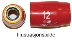 KA P 12-27. AUS-isolert pipe, 27mm 1/2''