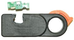 """Avisoleringsverktøy, grunnverktøy, """"snurre"""" for innsetting av knivsett for ønsket kabeltype"""