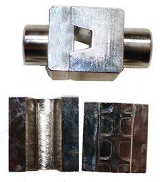 EAP 25/35 BAKKE. Pressbakke for endehylser 25/35mm² til EAP 240