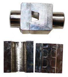 EAP 240 BAKKE. Pressbakke for endehylser 240mm² til EAP 240