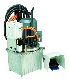 HA 1-3 P. Novopress elektrohydraulisk pumpe, 150 bar