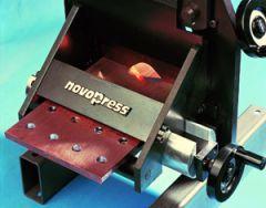 HSBL 7020. Novopress kappeverktøy for Cu- og Al- skinne. Maks skinne 160x13mm.