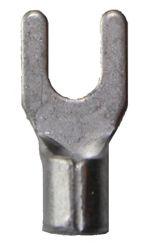 B 2543 G. Uisolert kabelsko, gaffel, sveiset-hals,  2,5mm² M4