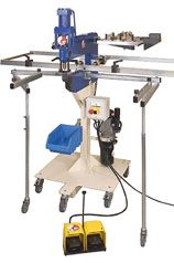 CT 2. Stansemaskin / platelokker for hull-lokking
