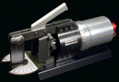 HSBL 1179. Novopress bøyeverktøy m/vinkelskive for Cu og Al-skinne. Maks 120x10mm til HSBL