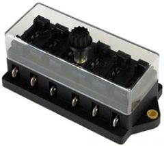 K 326. Sikringsholder for MIDI 2-40Amp.