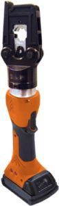 PVA 450. Batteridrevet presstang for innsetting av løse pressbakker. (TB)