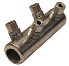 SCA 50240. Skruskjøtehylse, Cu og Al 50-240mm²