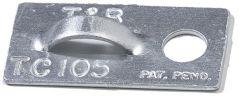 TC 105, Monteringsfeste for strips. Aluminium